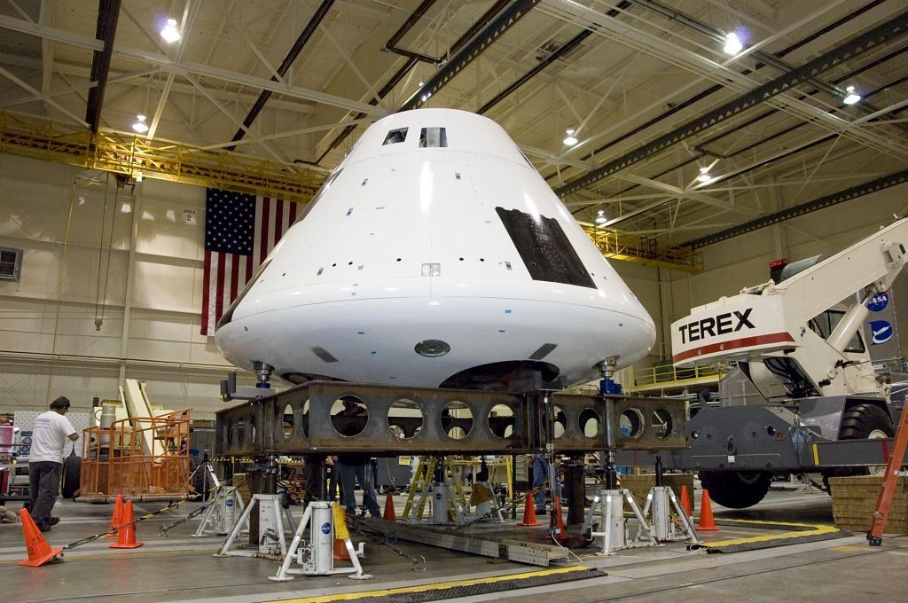 В NASA испытали новый лунный корабль
