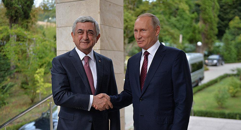 О встрече Путина с Саргсяном