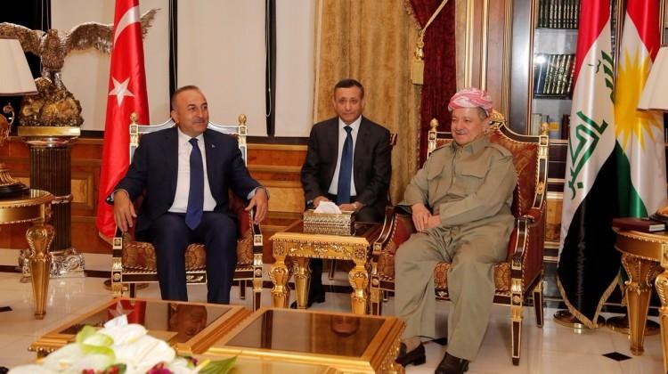 Чавушоглу на переговорах с лидером курдов - Обновлено/Фото
