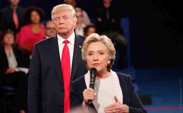 سئچکیلر اؤنجهسی ترامپا شوک: کلینتون اونونلا بیرلشیر...