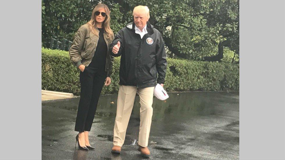Трамп отправил Меланью на границу с Мексикой