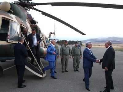 Sərkisyan Ermənistandan qaçdı?
