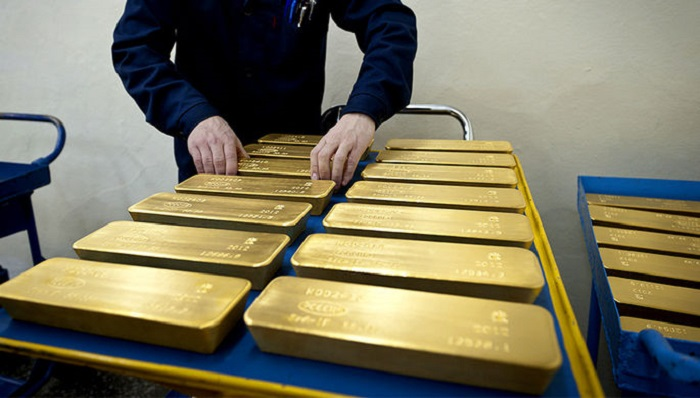 Россия продала Британии золото на рекордные $5 млрд