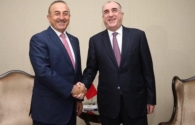 Cavusoglu congratulated Elmar Mammadyarov