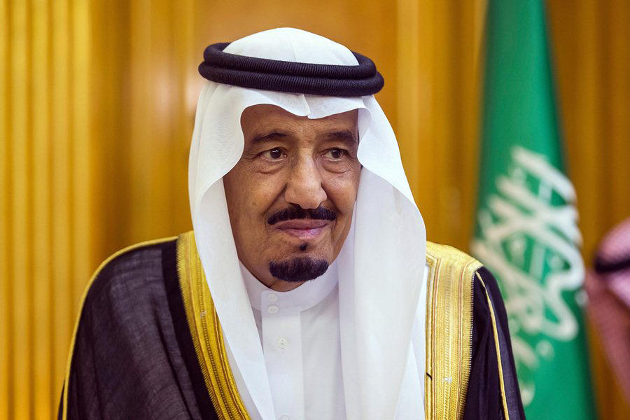 Saudi king backs US efforts for Palestine-Israel talks