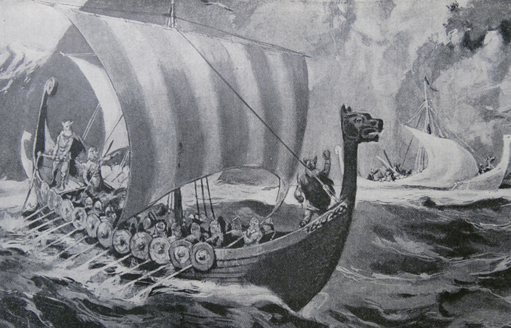 Исследователи обнаружили корабль времен викингов