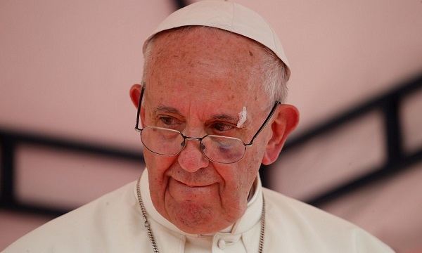 The Pope called the pandemic a prison