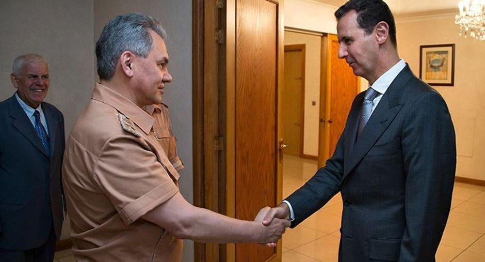 Putin təlimat verdi, Şoyqu Suriyaya getdi