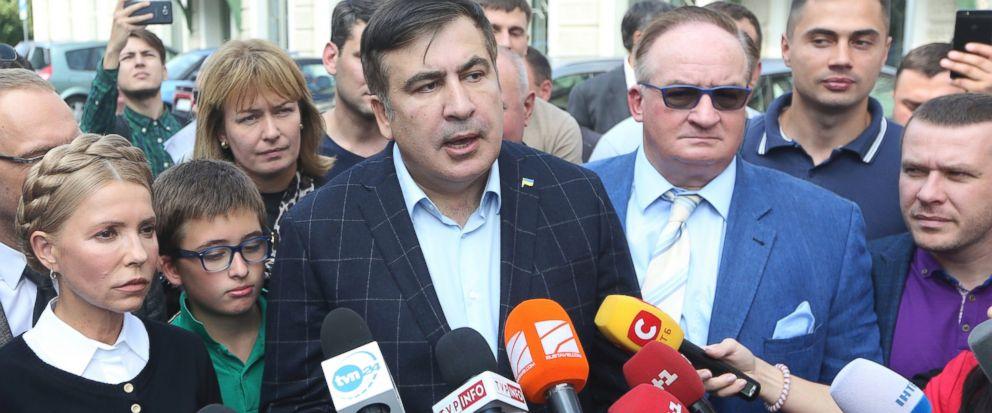 Saakaşvili prokurorluğa gəldi, amma ifadə vermədi