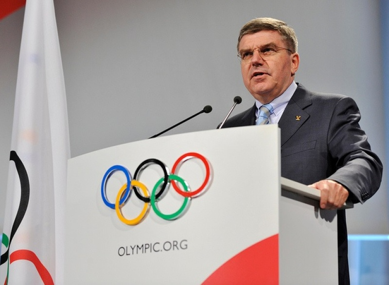 Olympic President Bach to visit Japan