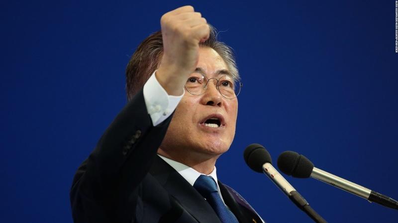 Cənubi Koreya lideri Moskvaya gəldi