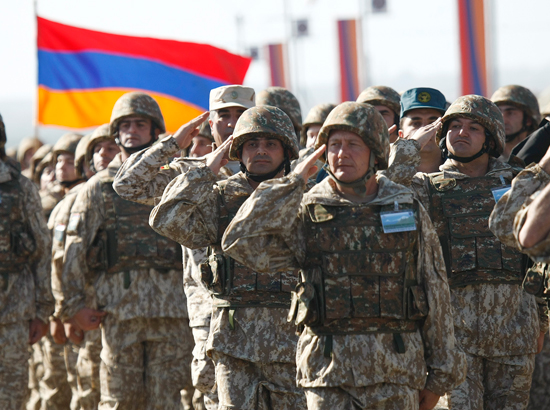 """Armenian eagles"" ""declared war"" on NATO"