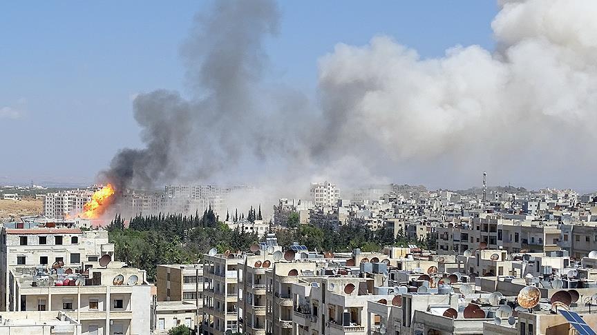 Əsəd rejimi İdlibi vurdu: yaralılar var