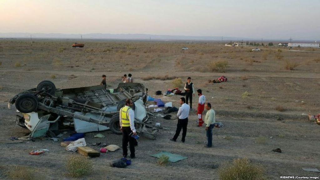 واژگونی سمند در جاده تبریز-تهران ۲ کشته برجای گذاشت