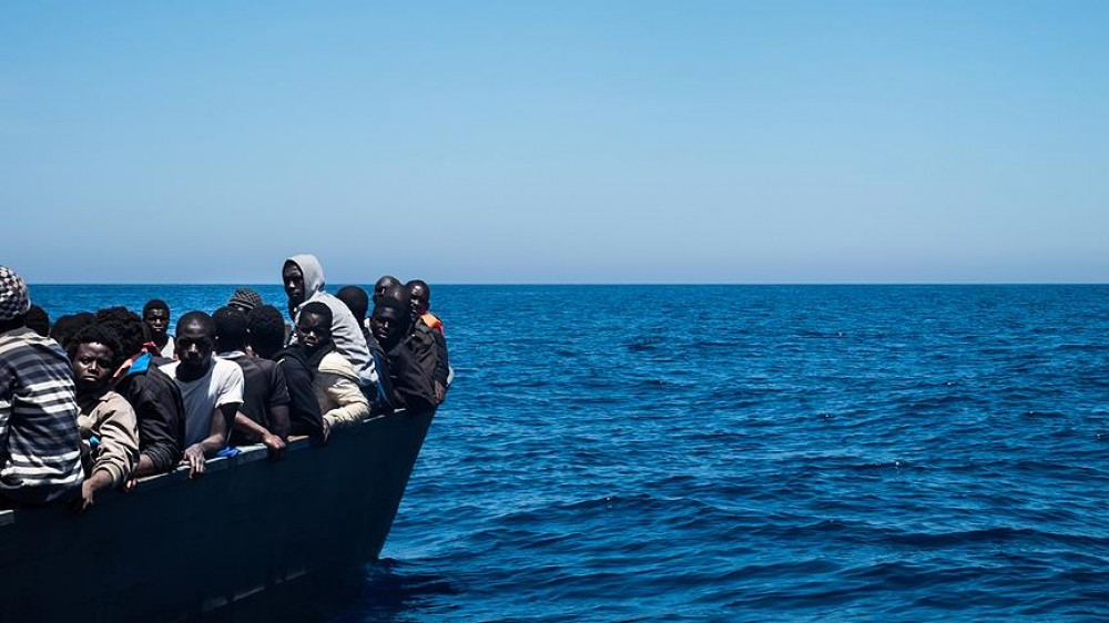 Turkish frigate rescued 97 migrants