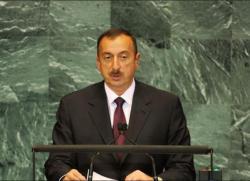 Ильхам Алиев выступит на Генассамблее ООН