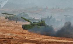 Qərb-2017 hərbi təliminin - Fotoları