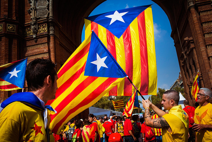 Kataloniyada yenidən etirazlar alovlandı