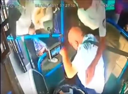 Avtobus sürücüsünü döyən şəxs həbs edildi -