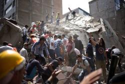 عالیمین قورخونج پروقنوزو چین چیخدی: دهشتلی زلزله