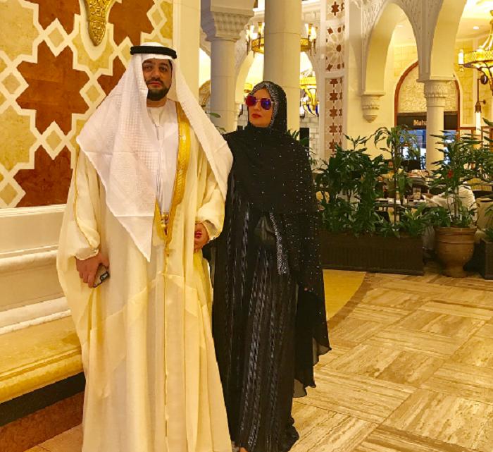 Шейх Юсиф и шейха Анна Дубайские - Фото