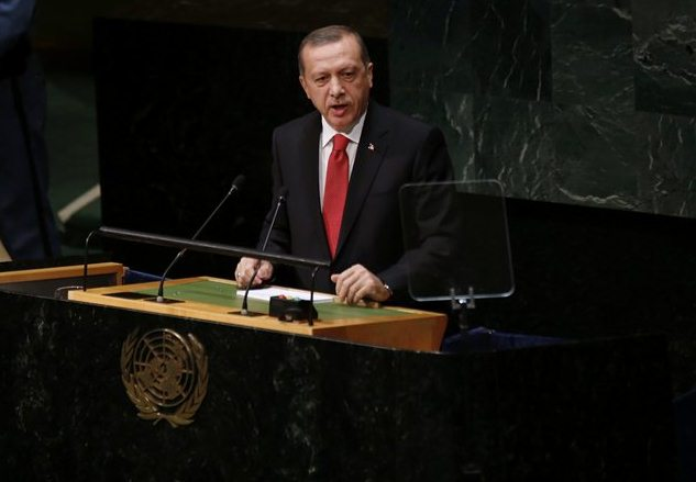 آمئریکا هله ده بونو باشا دوشمک ایسته میر - اردوغان