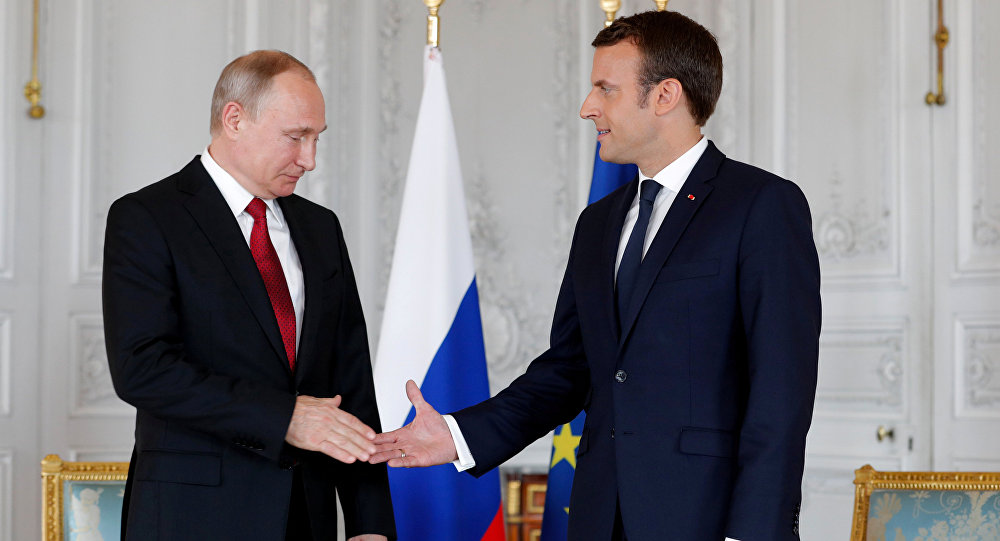 Putin welcomes Macron's readiness