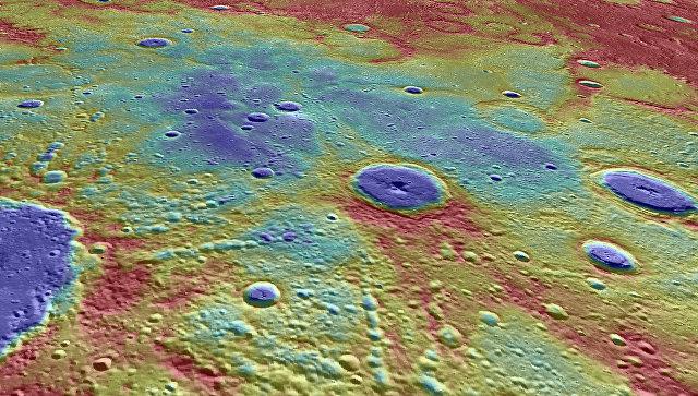 Найдены огромные залежи льда на Меркурии