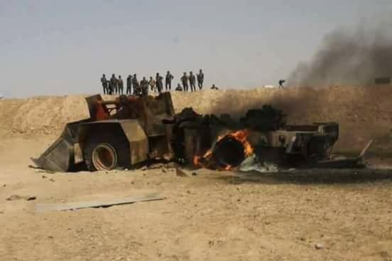 F-16-lar Suriyanı vurdu: İŞİD liderləri öldürüldü