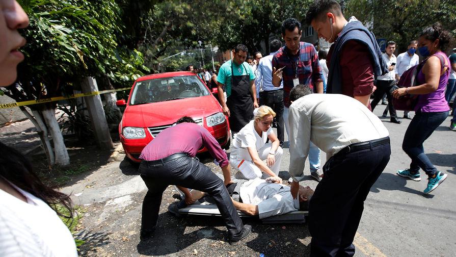 Число жертв землетрясения в Мексике возросло до 286