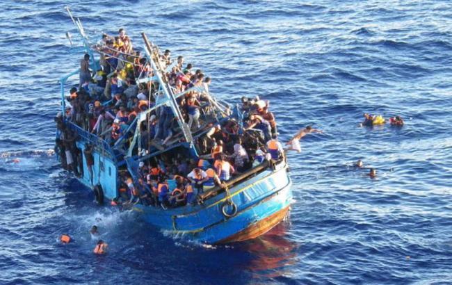 У берегов Турции затонул катер с мигрантами
