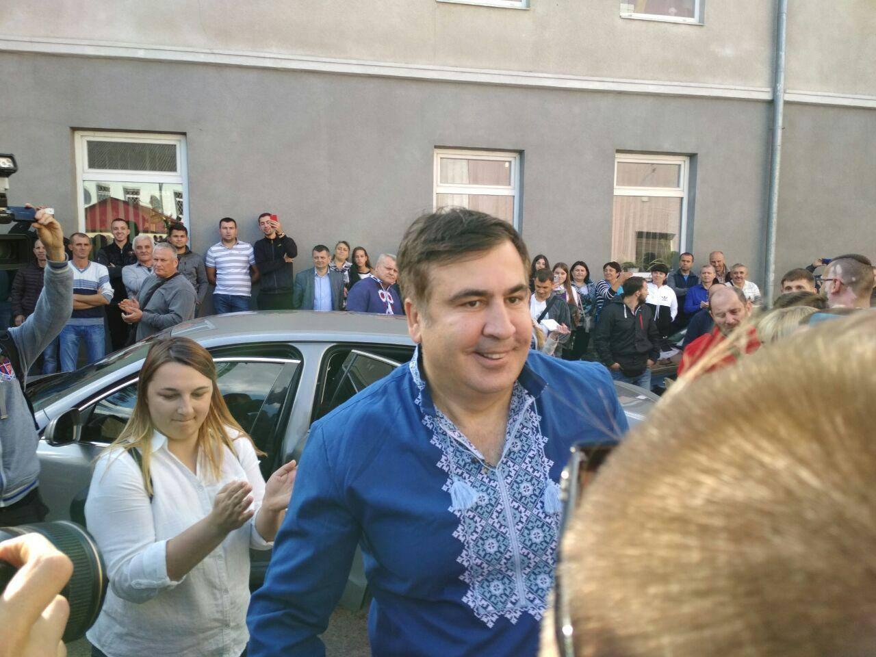Саакашвили отделался штрафом в $130
