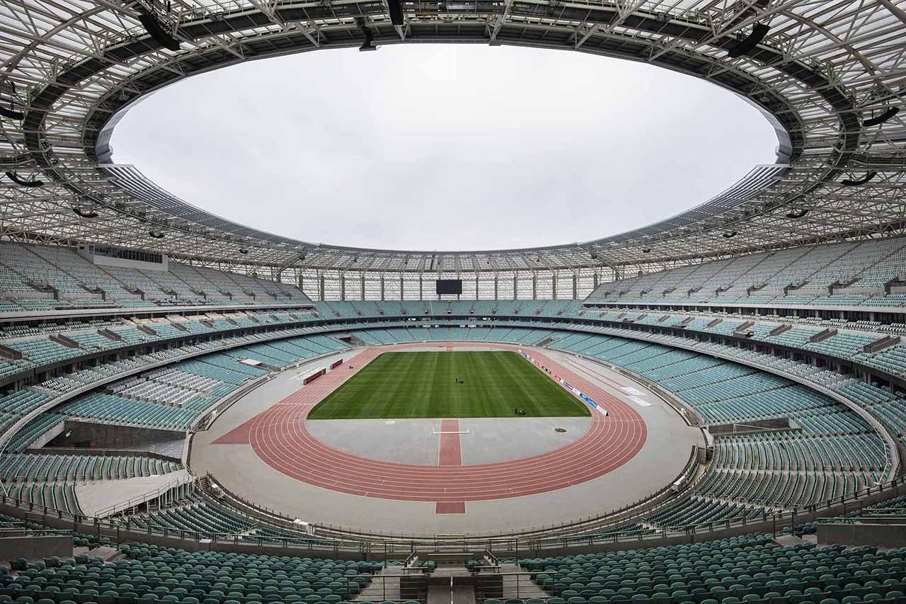 Олимпийский стадион готов к Лиге чемпионов
