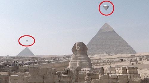 Sirr çözüldü: Piramidaları yadplanetlilər tikib?