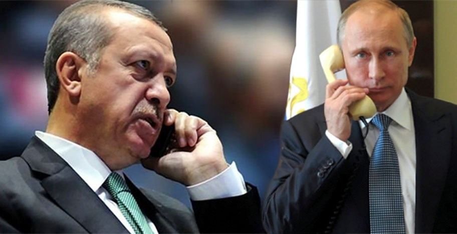 О чем говорили Путин и Эрдоган?
