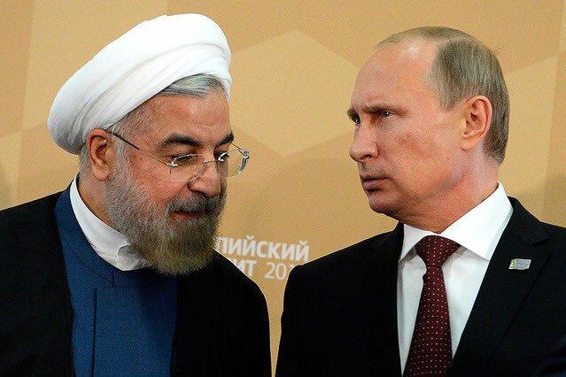 Путин позвонил Рухани
