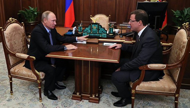 Путин отправил в отставку губернатора