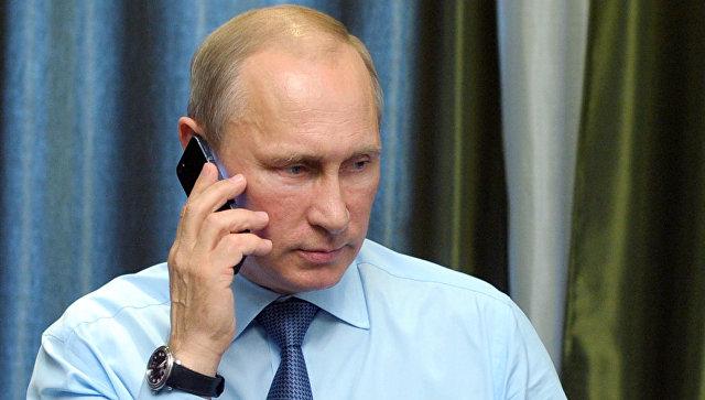 Путин обсудил с Назарбаевым Сирию