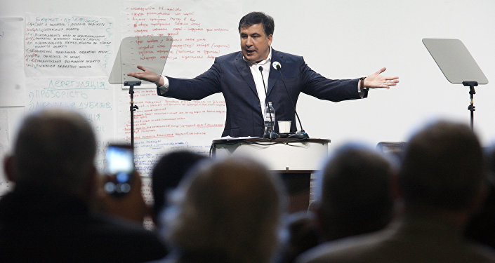 Saakaşvilinin tərəfdarı Kiyevin qara siyahısına düşdü