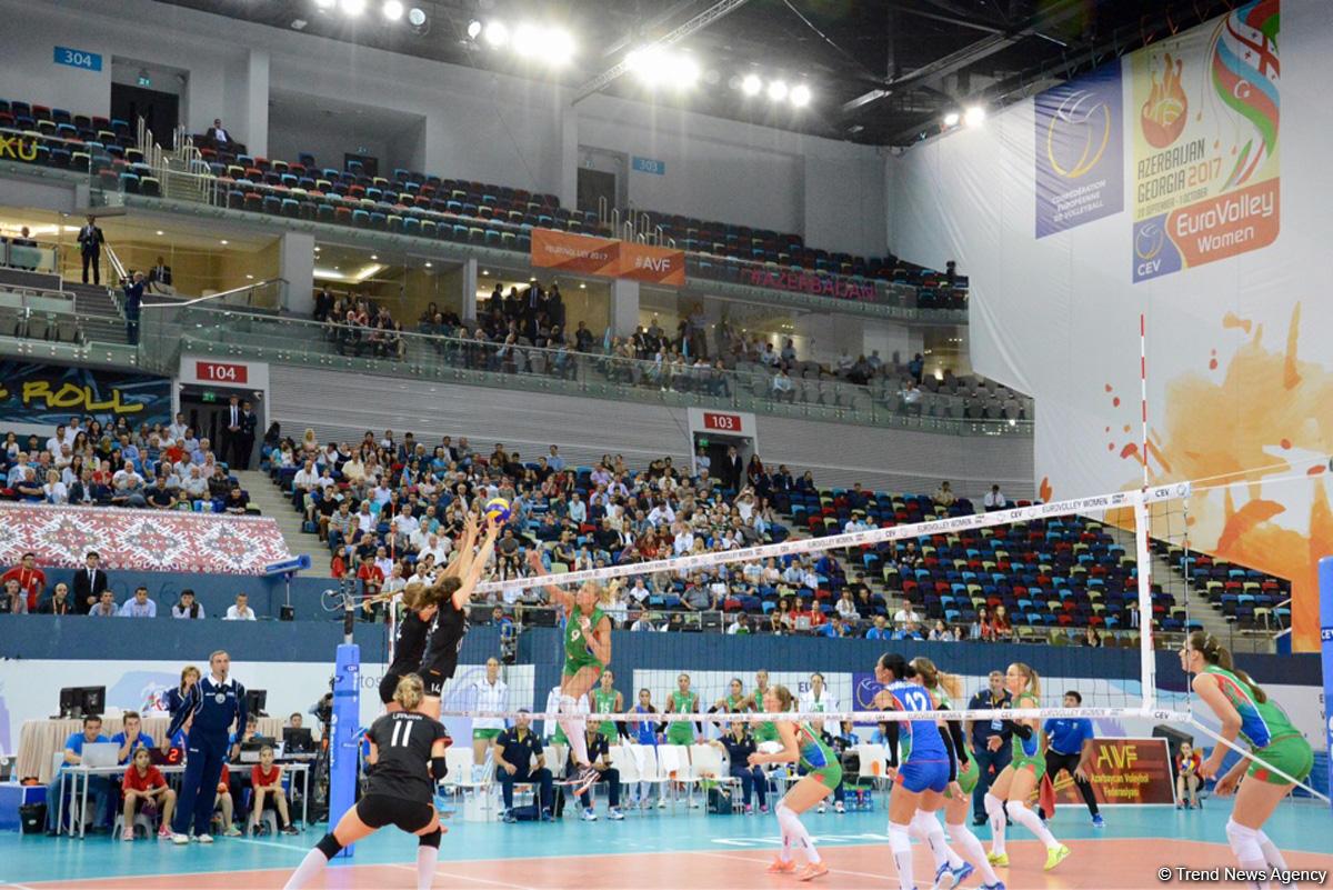 Женская сборная по волейболу вышла в четвертьфинал