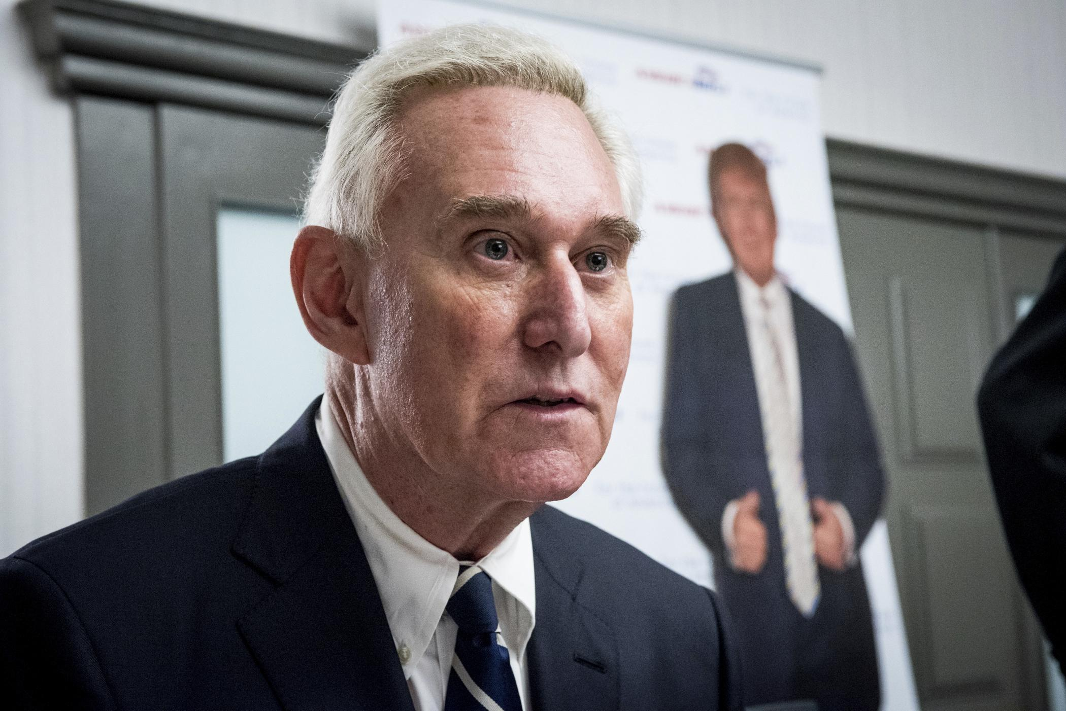Roger Stone barred from social media by federal judge
