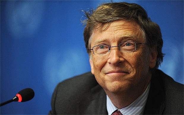Bill Gates shares photo of himself getting COVID-19 vaccine
