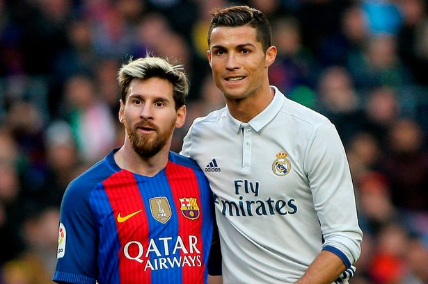 Image result for Messi Ronaldo