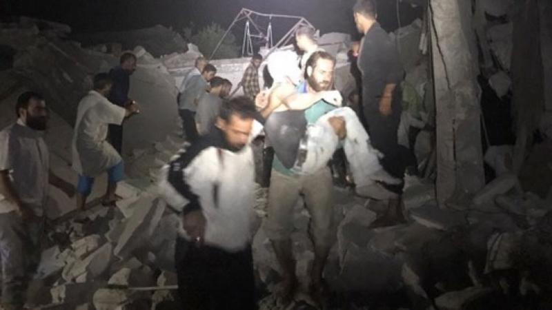 اسد تییارهلری هوجوما کئچدی: اؤلن و یارالانانلار وار
