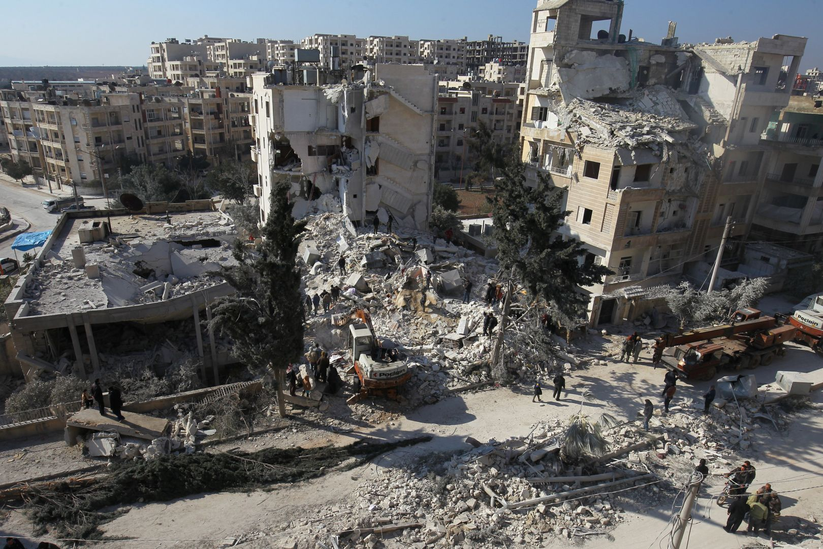 Regime, Russian airstrikes kill 5 civilians in Syria