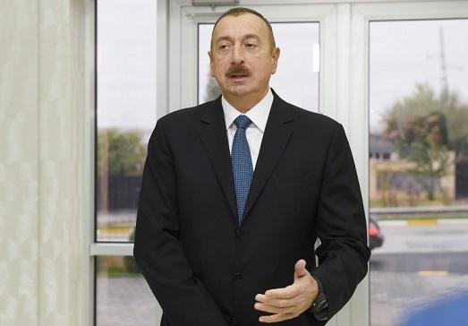 İstəyirəm, ölkəmizdə bu məhsulu alan olmasın - Prezident