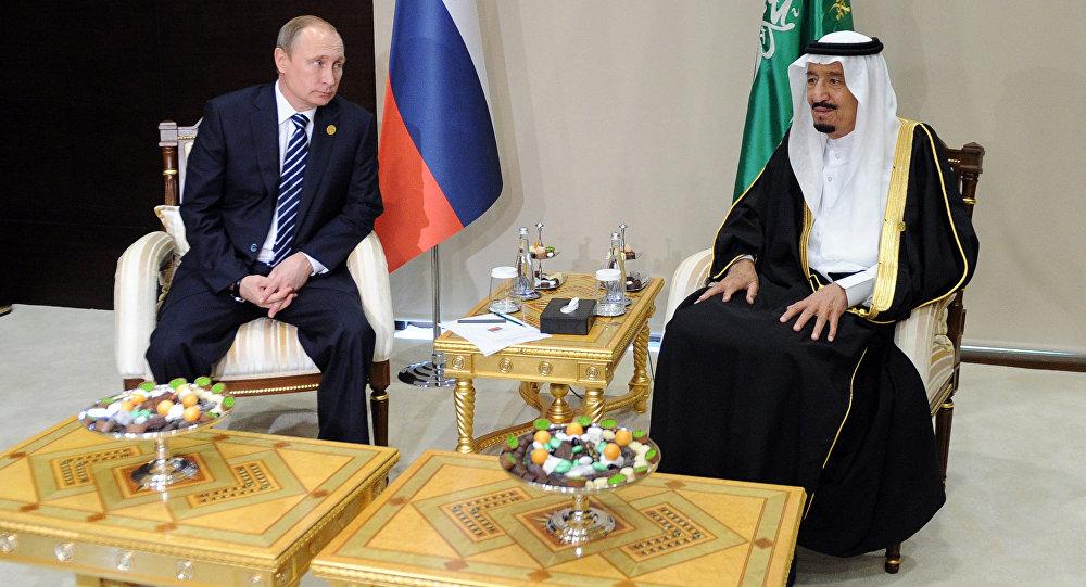 Путин рассказал королю Сауду о встрече с Асадом