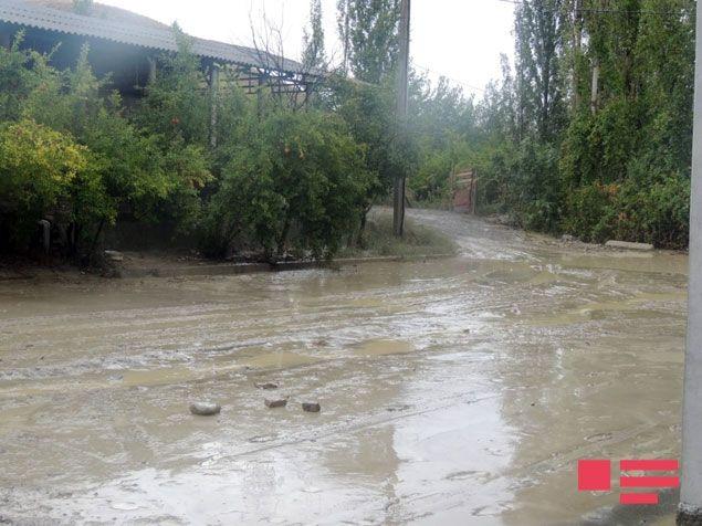 Gürcüstanda güclü yağış fəsadlar yaratdı