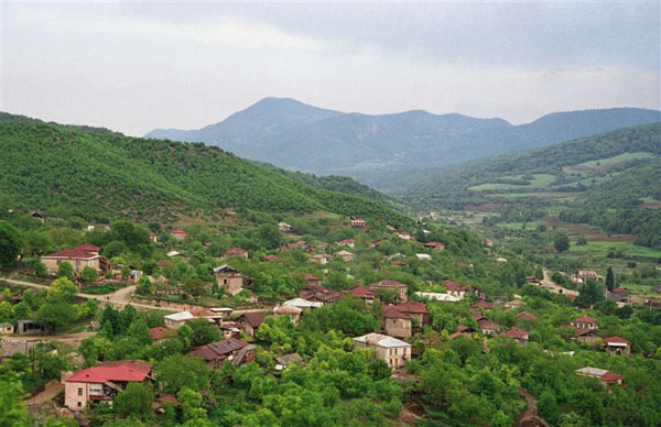 Chiraguz village of Khojavend -