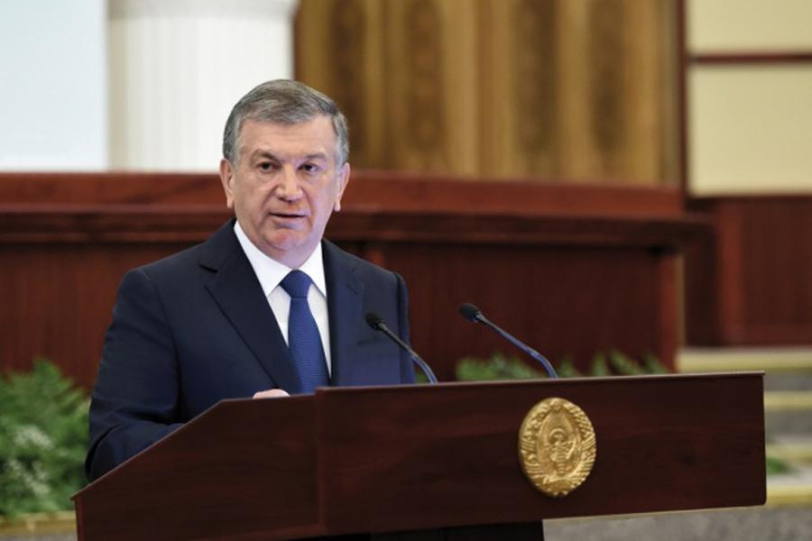 Мирзиеев побеждает на выборах главы Узбекистана